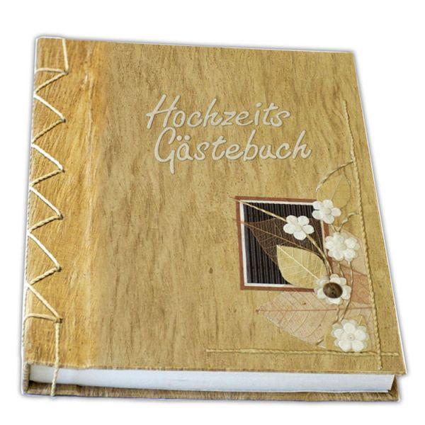 Hochzeits Gästebuch Nr. 15 - Natur-Motiv
