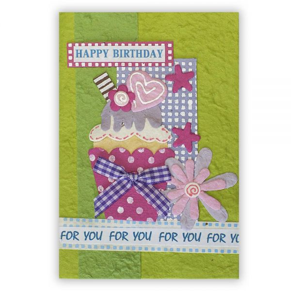 SAA Geburtstags Grußkarte | Geburtstagskuchen