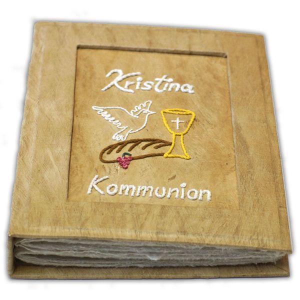 """Kommunionalbum """"Taube, Brot + Kelch"""" Kristina"""