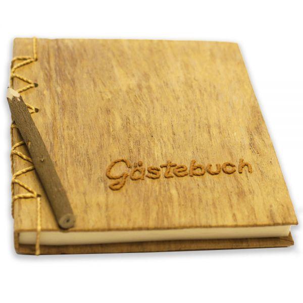 Gästebuch ~ Neutral - braune Schrift