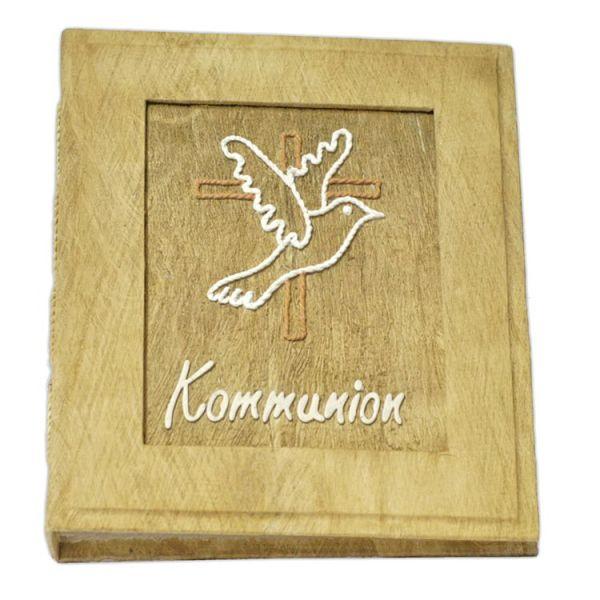 """Kommunionalbum """"Taube mit Kreuz"""", Neutral"""