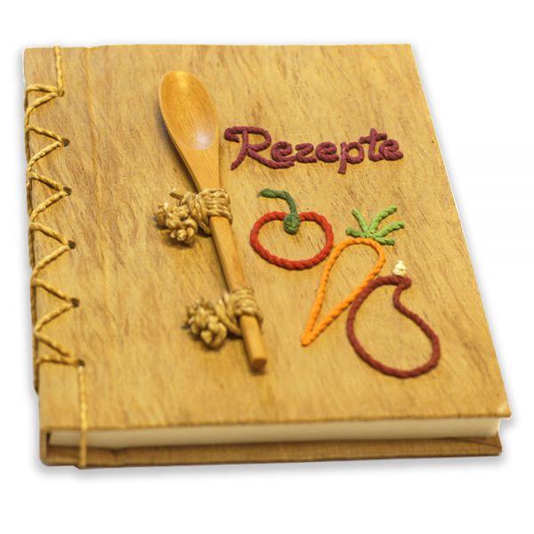 Rezepte Buch (rote Schrift)