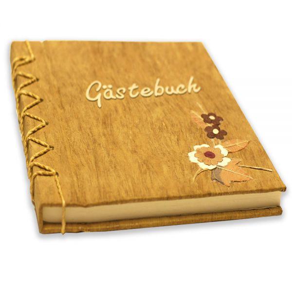 Gästebuch ~ mit Blumen-Design