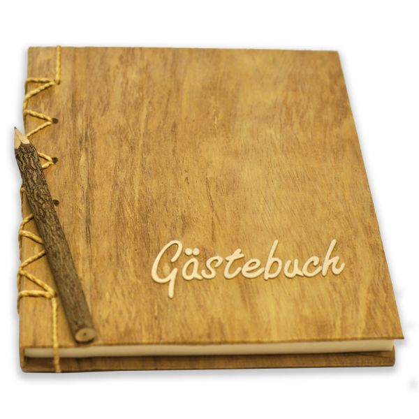 Gästebuch ~ Neutral - helle Schrift