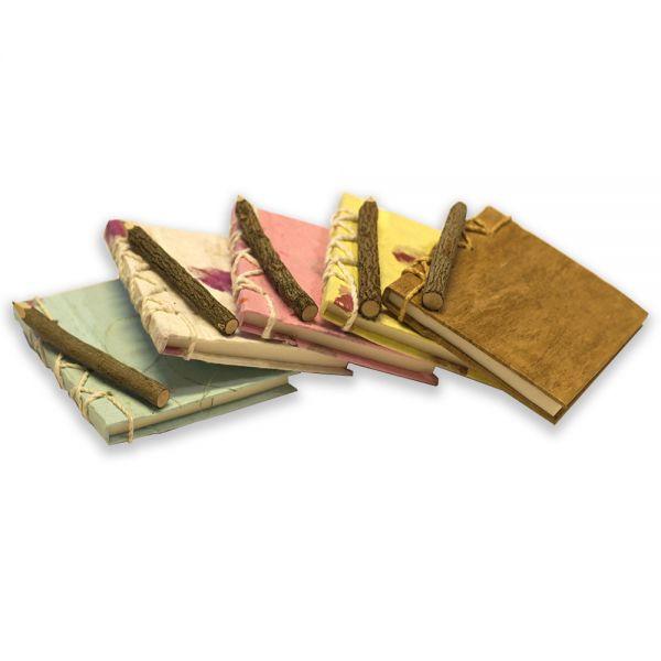SAA-Bücherl ~ 5er Set | Natur, Gelb, Rose, Weiss, Mint