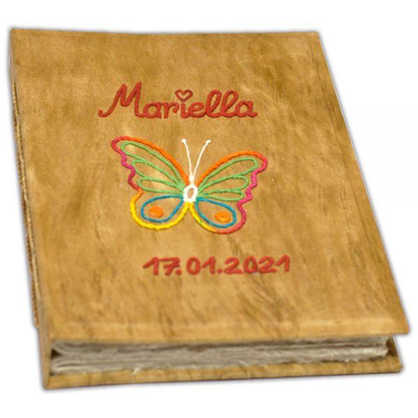 """Baby Fotoalbum mit Schmetterling """"Mariella"""""""